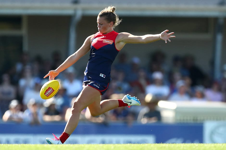Melbourne star Maddie Gay will feature for Casey in tomorrow's practice match (Photo by Kelly Defina/Getty Images)