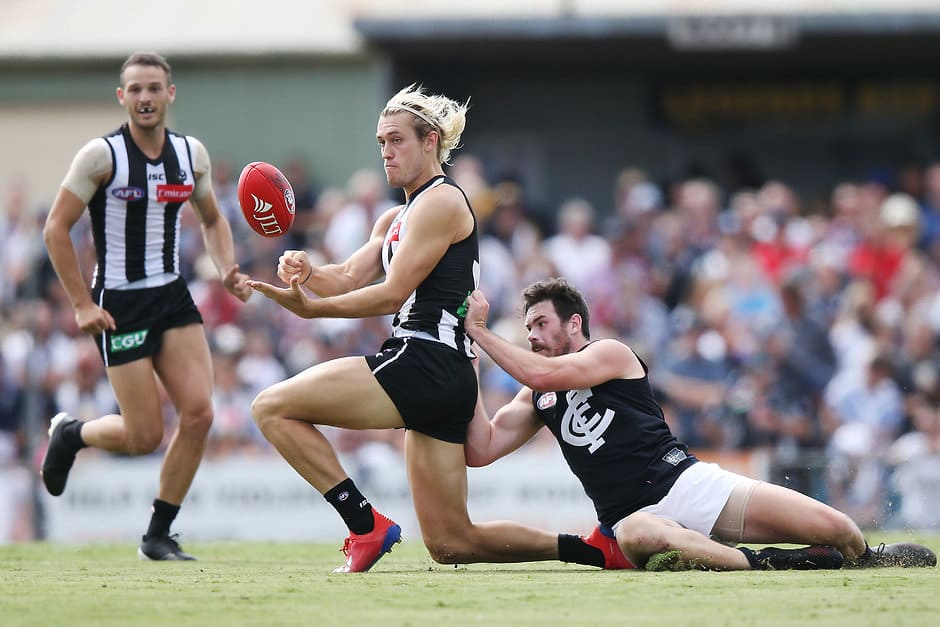 The return of Darcy Moore has changed the Pies' structure - Collingwood Magpies