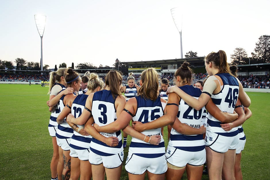 There were plenty of ups and downs in season one. - Geelong Cats,AFLW