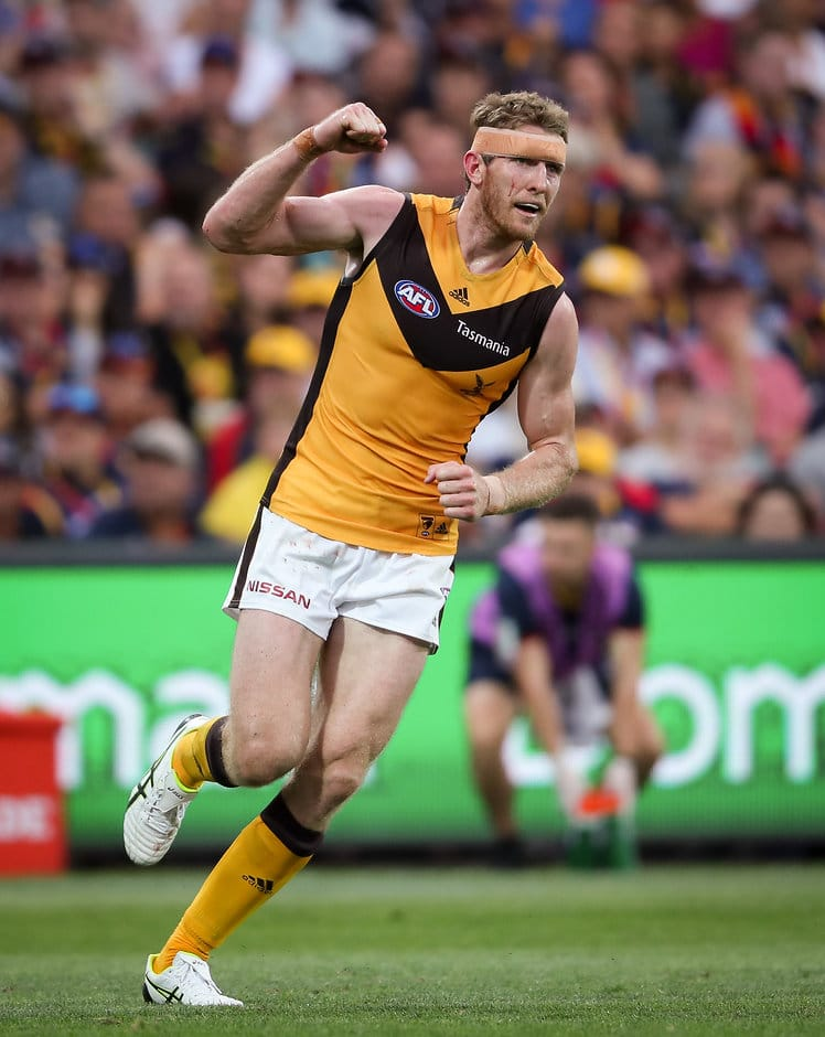 Ben McEvoy is set to play his 100th game in the brown and gold when he runs out against St Kilda on Sunday. - Ben McEvoy