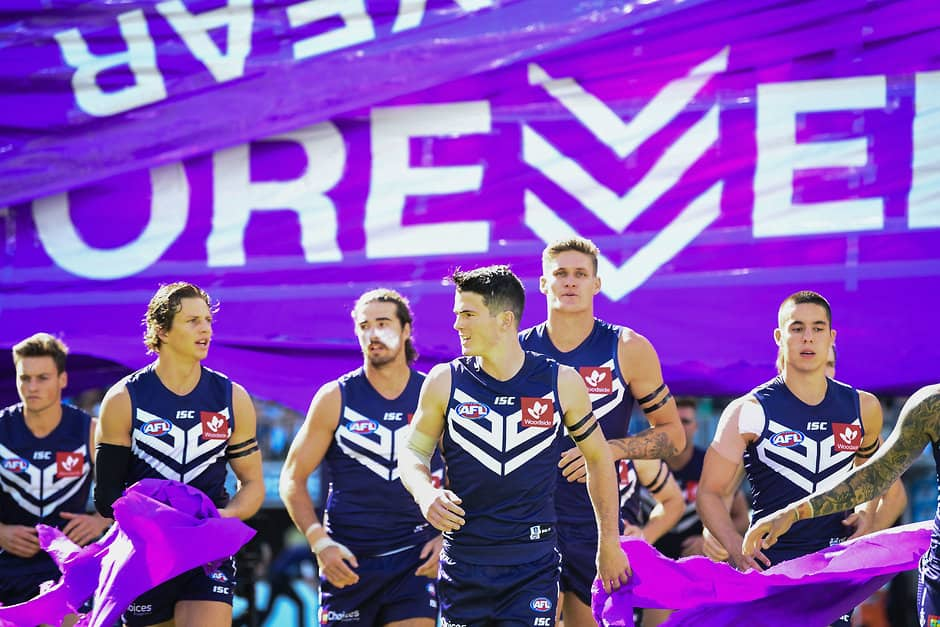 A promising and talented Fremantle playing list was the drawcard for Josh Carr. - Fremantle,Fremantle Dockers