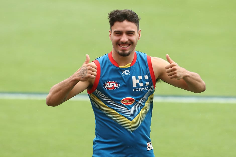 Izak Rankine has signed a new deal with the Suns - AFL,Gold Coast Suns,Contracts,Izak Rankine