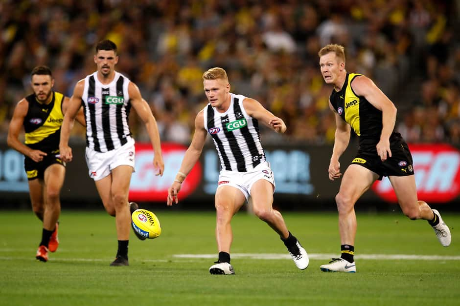 The Pies played the Tigers twice in 2019 with the teams sharing the spoils - Collingwood Magpies,Fixture