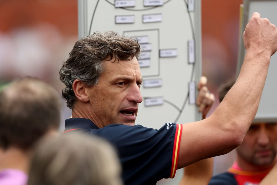 Matthew Clarke coached the Crows to the AFLW premiership this year - AFL,Adelaide Crows,Matthew Clarke,Game,Update,News
