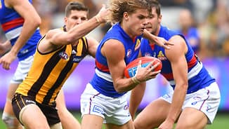 Limited pre-season, but unlimited potential for Dogs' Rising Star