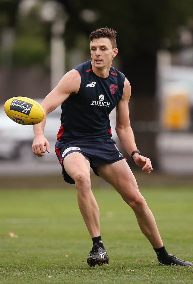 Jake Lever is likely to play in the VFL this weekend. (Photo by Michael Dodge/Getty Images)