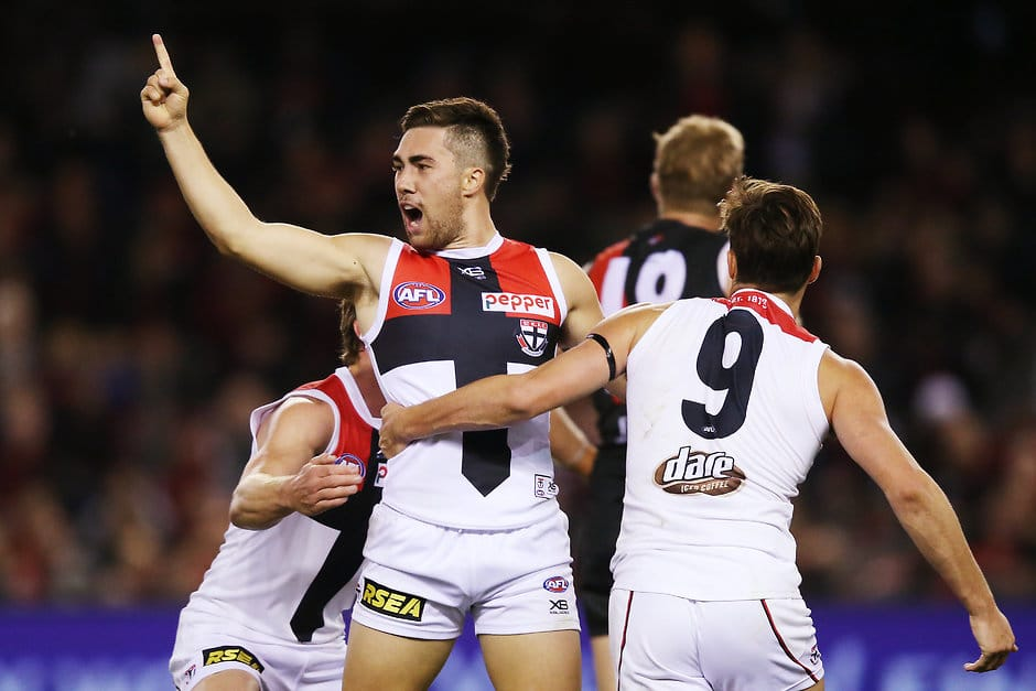 It's all smiles at Moorabbin with the Saints sitting in fifth spot on the ladder after four rounds - AFL,St Kilda Saints,Tag-Analysis,Alan Richardson