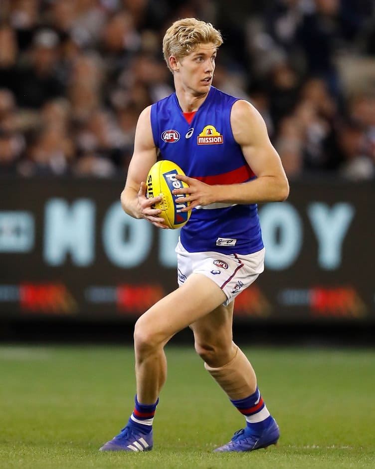 Tim English (above) will miss his second consecutive match on the weekend. - Western Bulldogs,Tim English,Luke Beveridge