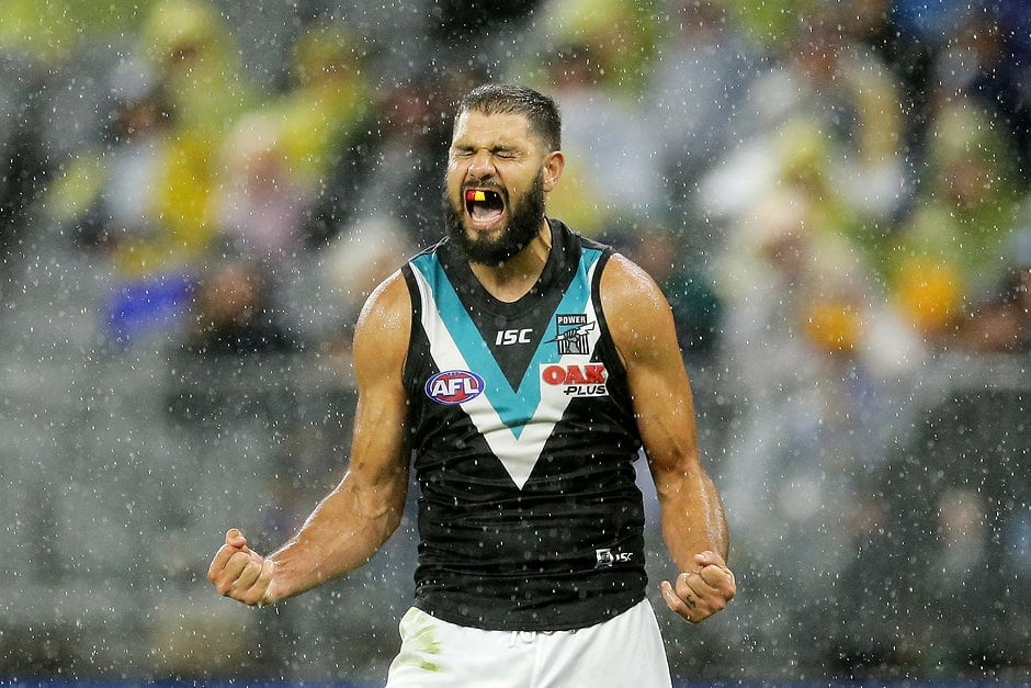 Paddy Ryder could find himself in Giants colours next season - AFL,GWS Giants,Port Adelaide Power,Paddy Ryder