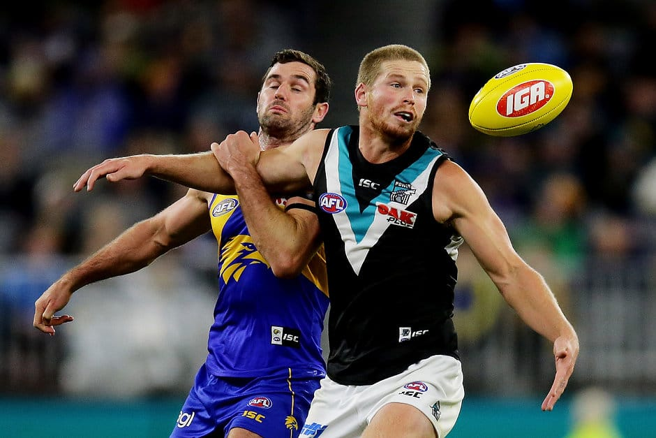 Tom Clurey has signed a new four-year contract with Port Adelaide - AFL,Port Adelaide Power,Tom Clurey,Contracts