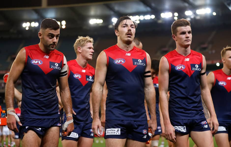 The Demons have performed well below expectations so far this season - AFL,Podcast,Tag-Podcasts