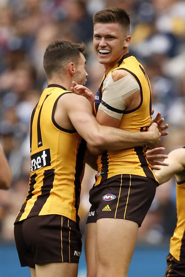 Conor Nash and Mitch Lewis are two of Jarryd Roughead's projects at the moments.  - Jarryd Roughead
