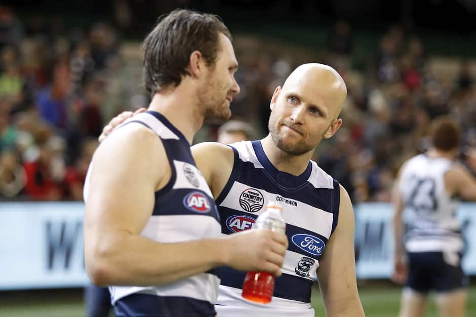 Patrick Dangerfield has fallen from top spot to fifth in Official AFL Player Ratings after Sunday's Essendon clash - AFL,Max Gawn,Patrick Dangerfield,Melbourne Demons,Geelong Cats,Player Ratings