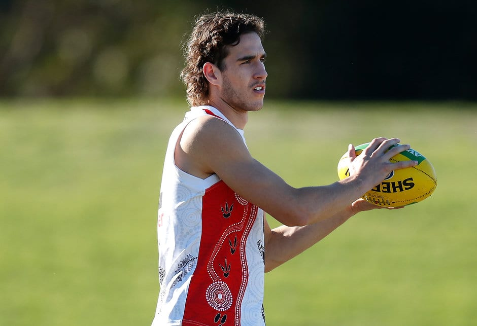 Max King is one of four fresh faces vying for senior selection. - St Kilda Saints,Max King,Doulton Langlands,Nick Hind,Oscar Clavarino