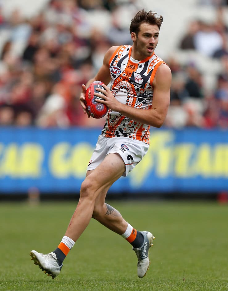 Giant Jeremy Finlayson took nine marks to help him to a solid 82 points on the weekend - AFL,Tag-Fantasy,Fantasy