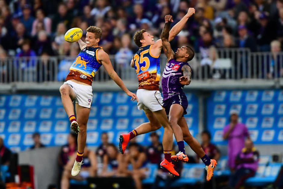Surging Dockers pinch victory over Lions after the final siren