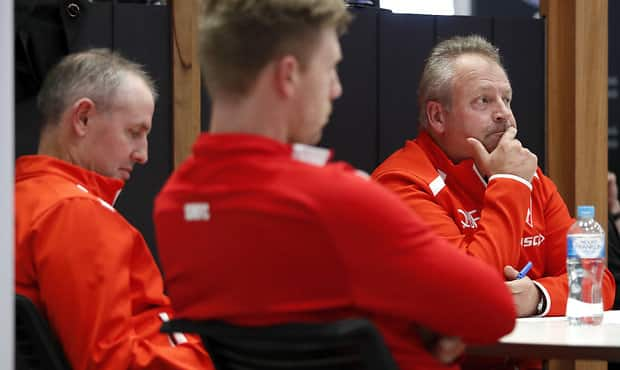 MELBOURNE, AUSTRALIA - MAY 27: Sydney Swans recruiting staff are seen during the 2019 NAB AFL Mid-Season Rookie Draft at AFL House on May 27, 2019 in Melbourne, Australia. (Photo by Dylan Burns/AFL Photos)