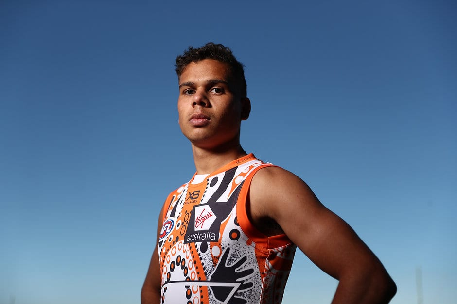 8b806313819 How an indigenous Giant is making an art form out of footy - AFL.com.au