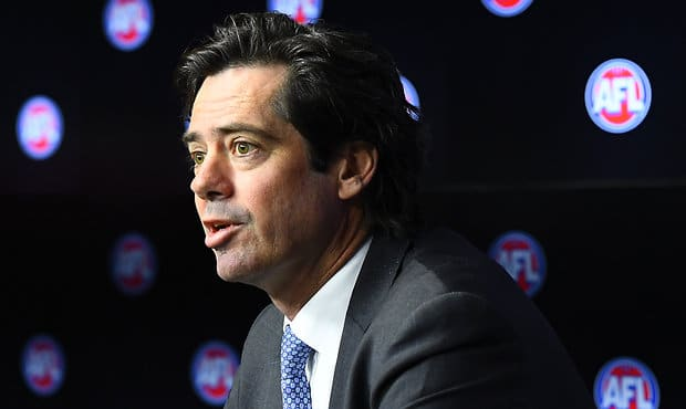 AFL 2019 Media - Gillon McLachlan Press Conference 180919