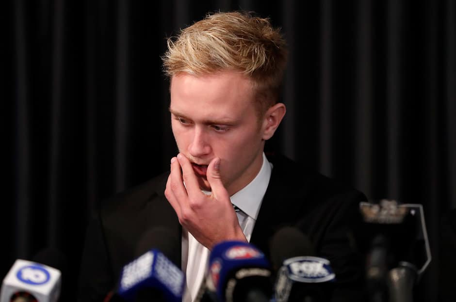 Jaidyn Stephenson has copped a huge ban for betting on AFL matches - AFL,Collingwood Magpies,Jaidyn Stephenson