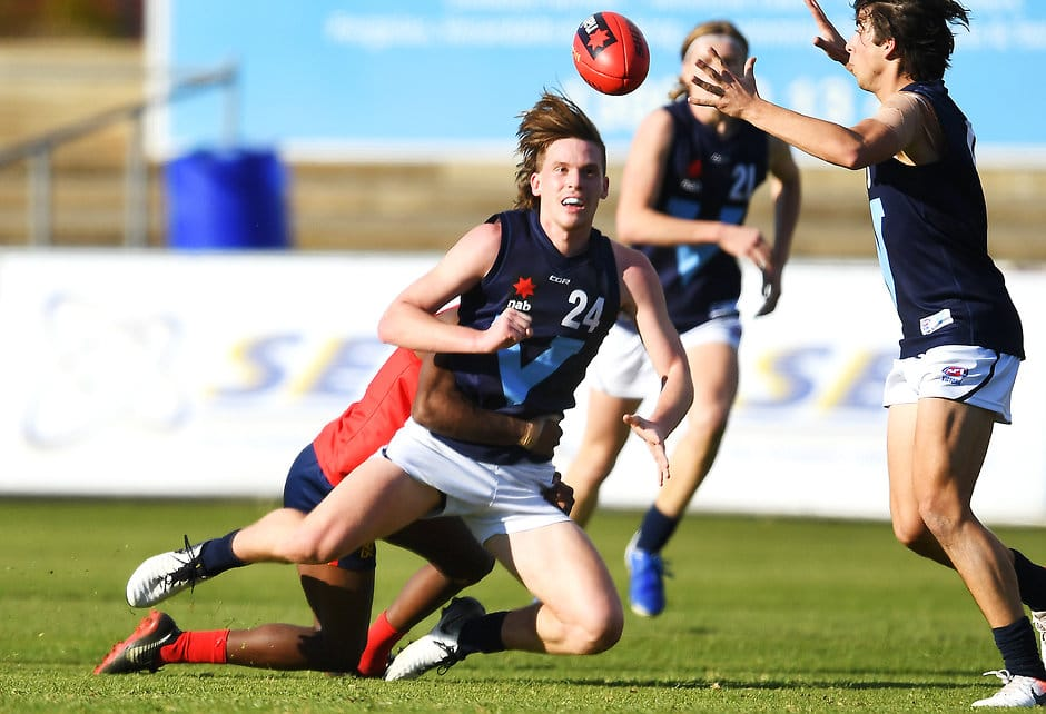 Potential No.1 draft pick Noah Anderson was a standout performer against South Australia - AFL,Under-18s,Tag-Draft,Draft