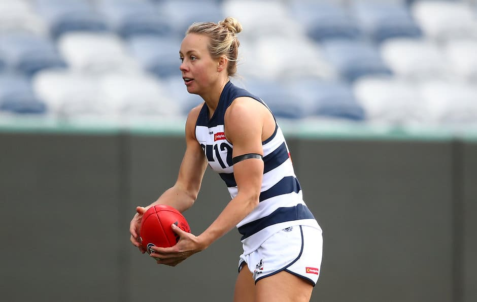 Renee Garing will return for the Cats. - Geelong Cats