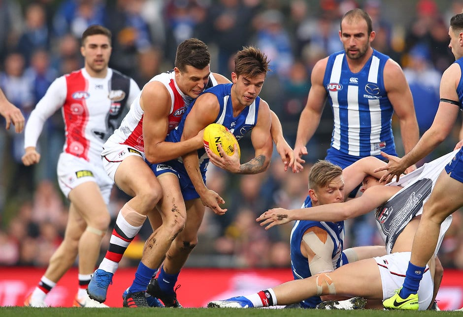 St Kilda will face North Melbourne at Marvel Stadium in the opening round of the 2020 Toyota AFL Season. - St Kilda Saints,North Melbourne,AFL