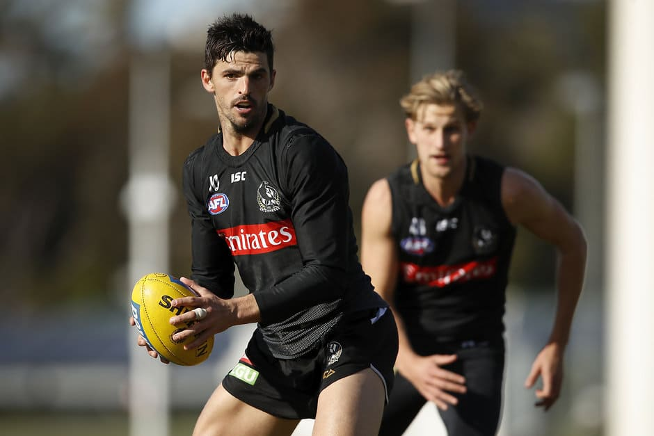 Scott Pendlebury is likely to take the field against the Giants - Collingwood Magpies,GWS Giants