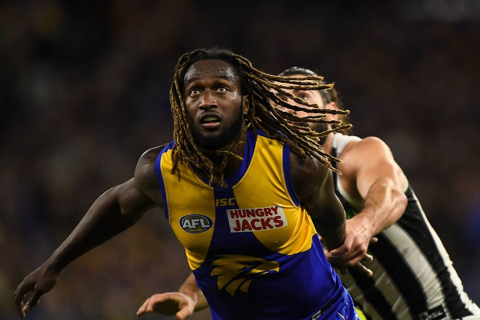 Nic Naitanui hopes to avoid surgery on his significant ankle injury - AFL,West Coast Eagles,Nic Naitanui,Injuries,Jamie Cripps,Daniel Venables