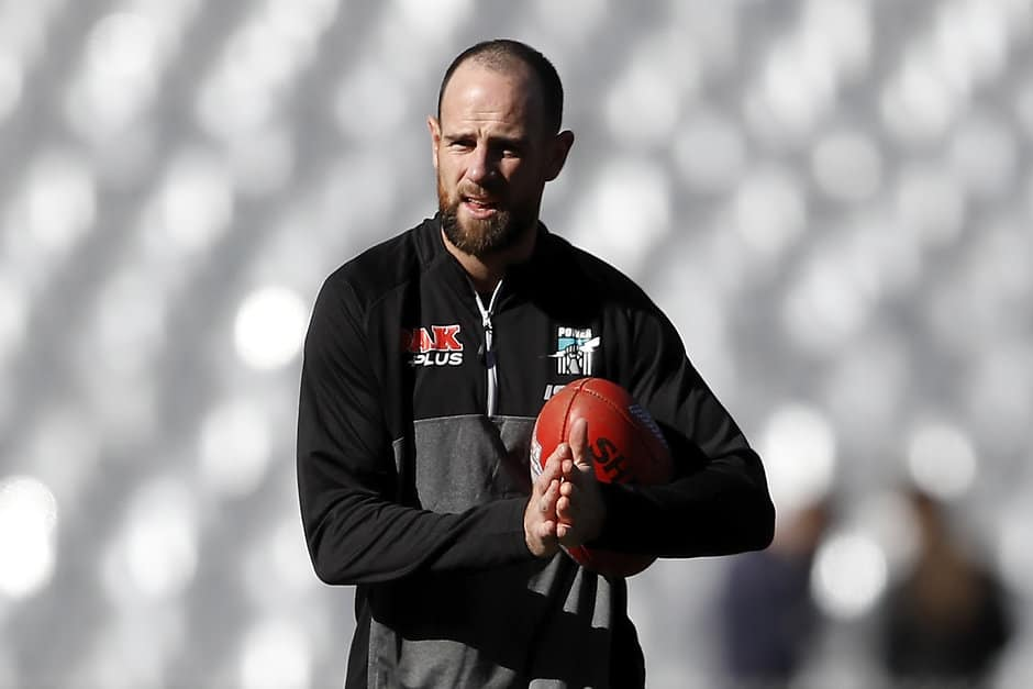 Matthew Broadbent has been delisted by the Power - AFL,Retirements,Delistings,Port Adelaide Power,Matthew Broadbent,Aidyn Johnson