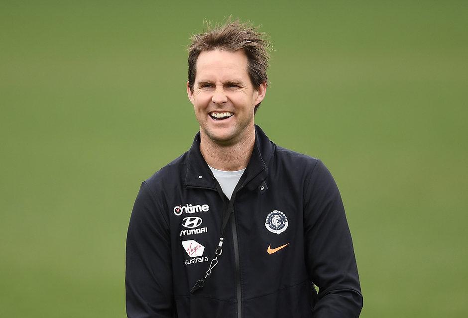Carlton has appointed David Teague as its senior coach - AFL,Carlton Blues,David Teague