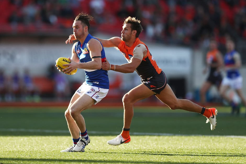 Dogs climb into the eight with stunning win over Giants