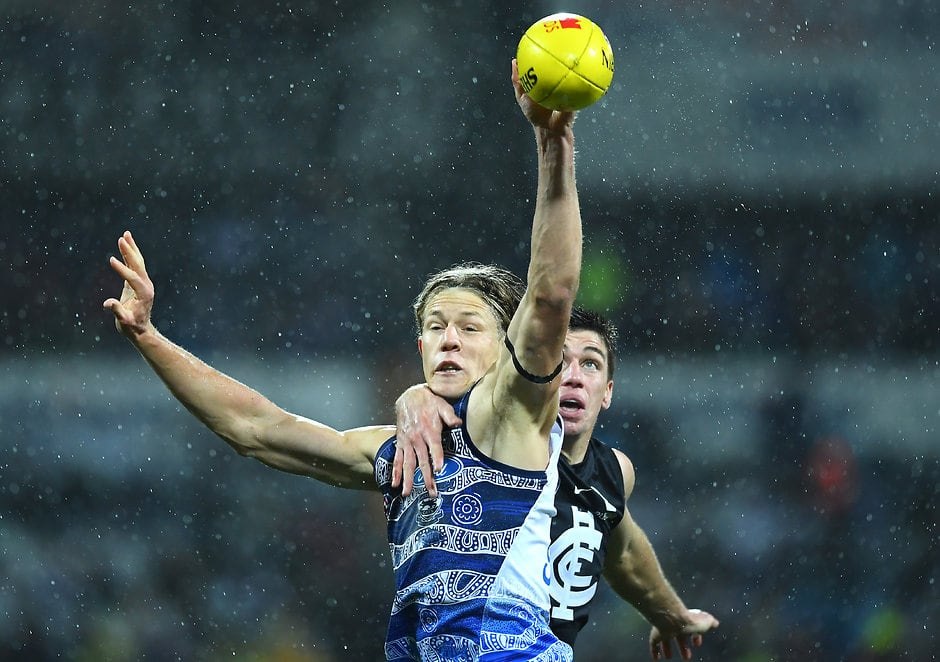 Ruckman Rhys Stanley has been axed for the clash with Collingwood - AFL,Geelong Cats,Collingwood Magpies,Rhys Stanley,Sam Menegola