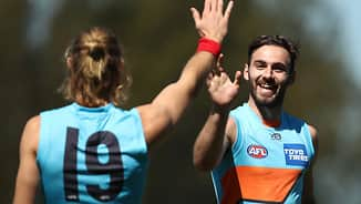 'I didn't know how hard AFL footy was': Giant reveals mental health battle