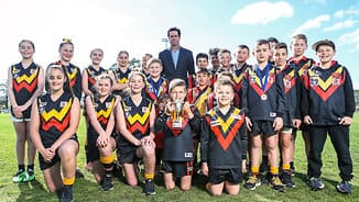 Massive $18m funding boost for country football in Victoria