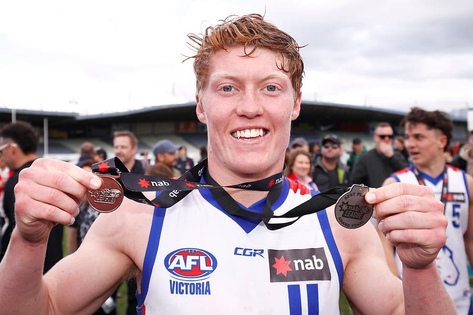 Matthew Rowell was best on ground in the NAB League Grand Final. All pictures: AFL Photos - AFL,Draft,Tag-Draft,Draft Combine