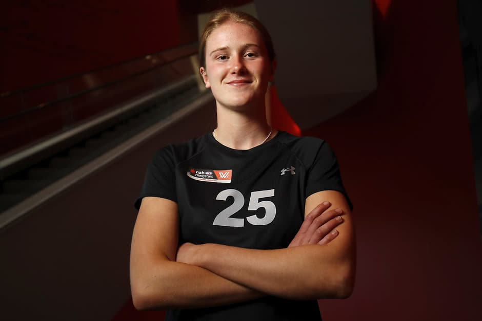 The daughter of club legend and current Bulldogs' director of football, Chris, is poised to join the club as a father-daughter selection in this year's AFLW Draft.  - Western Bulldogs,AFLW,AFLW Draft